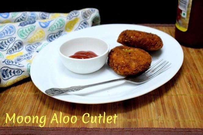 Moong Aloo Cutlet