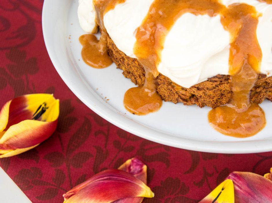Süßkartoffelkuchen @Spicy Love