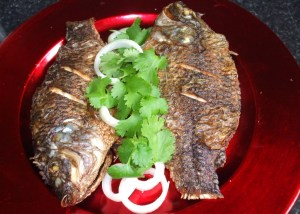 fried tilapia