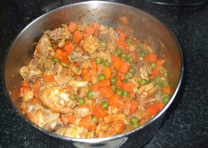chicken and vegetable special