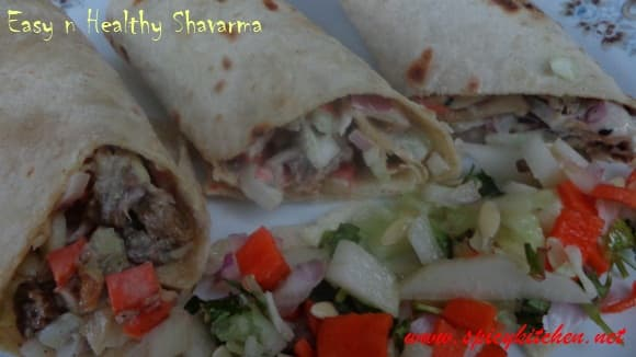 Healthy-Shavarma