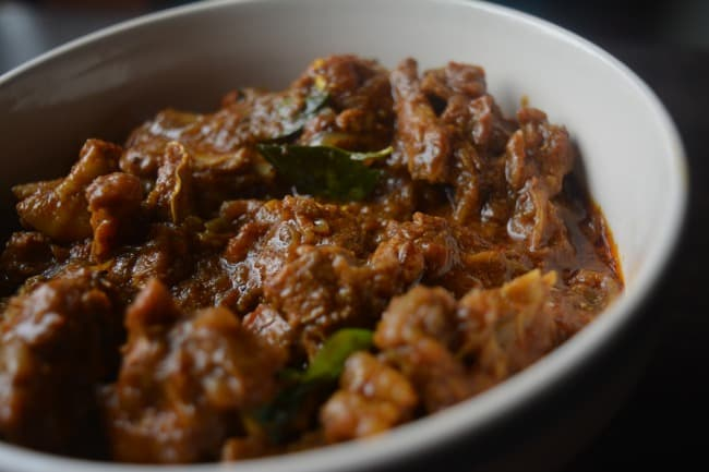 Kerala Style Mutton Curry