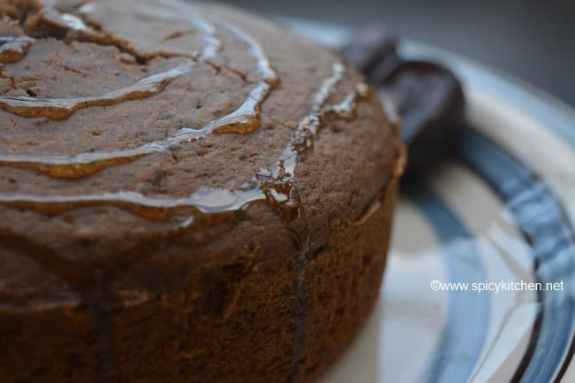 how to make dates honey cake