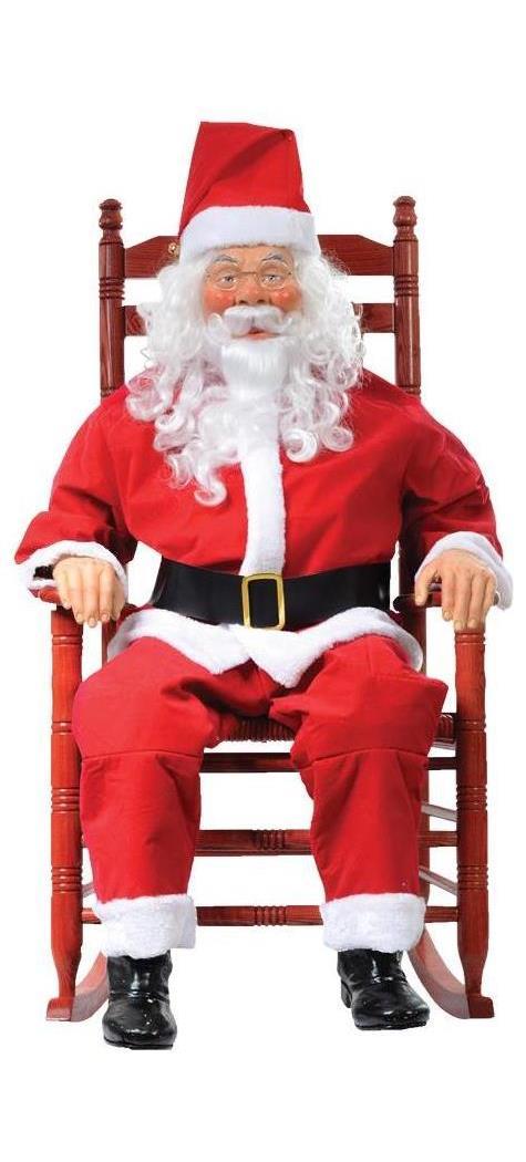 Rocking Chair Santa Boxed  SpicyLegscom