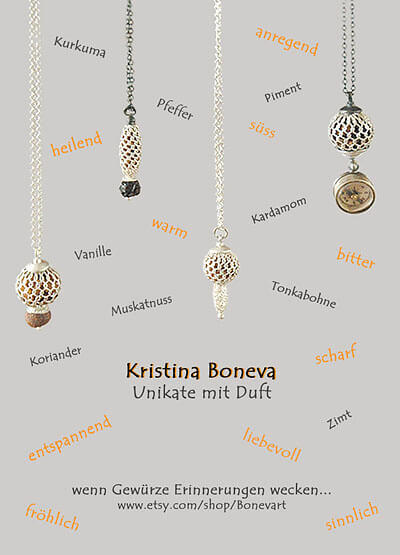 Kristina Boneva - Unikate mit Duft
