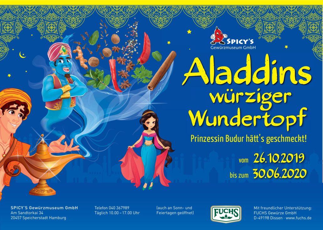 Sonderausstellung - Aladdins würziger Wundertopf