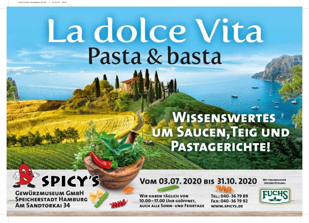 Sonderausstellung - La Dolce Vita - Pasta & Basta