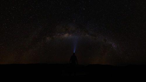 die Milchstraße in Westaustralien