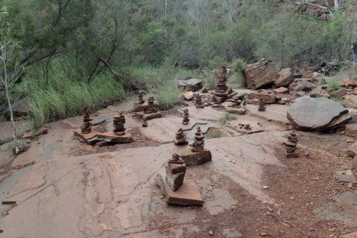 Lieblingsspiel vieler Wanderer: Steine stapeln