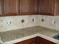 Tile Countertop - Home Christmas Decoration