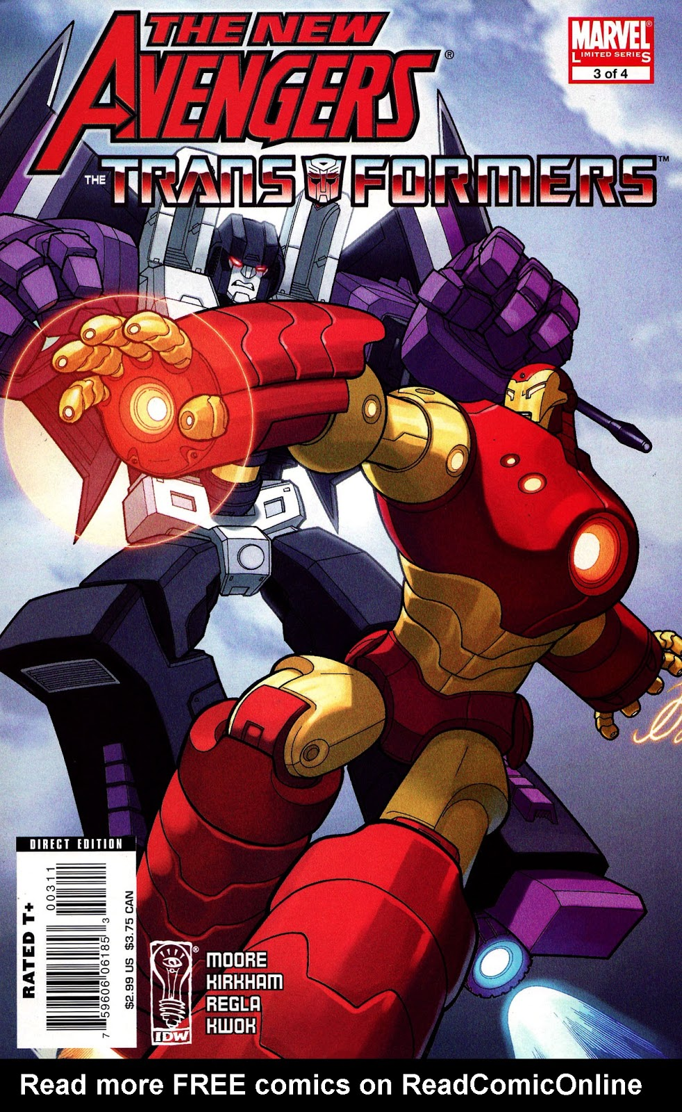 The New Avengers / Transformers #3 | Spider-Man Online