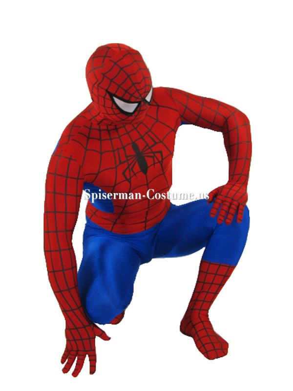 Girl Mascot Costume Wallpaper Red And Blue Spiderman Costume Classic Spiderman Costume