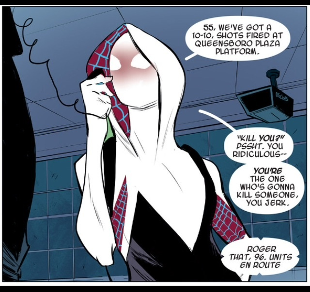 Image result for spider gwen kingpin