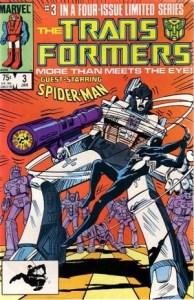 Transformers_Marvel_Comics_Spider-Man_vs._Megatron