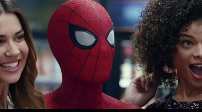 NBA and Tech Suit Video for Spider-Man:Homecoming