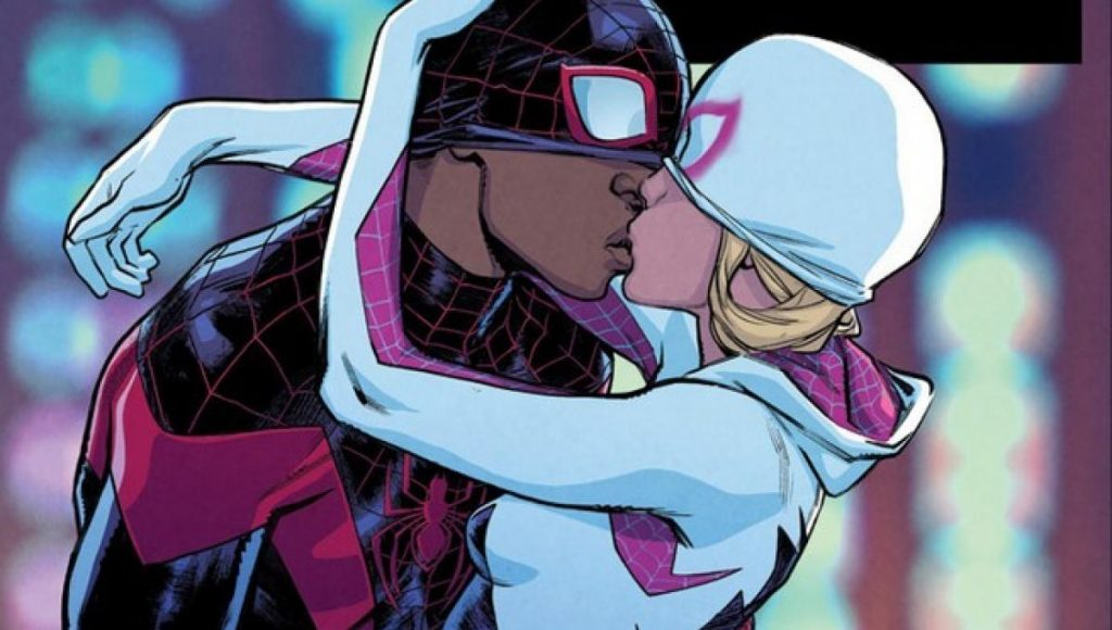 Miles Morales And Gwen Stacy