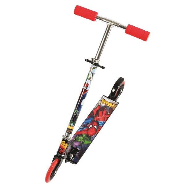 Mondo 2-Wheel Spiderman Scooter