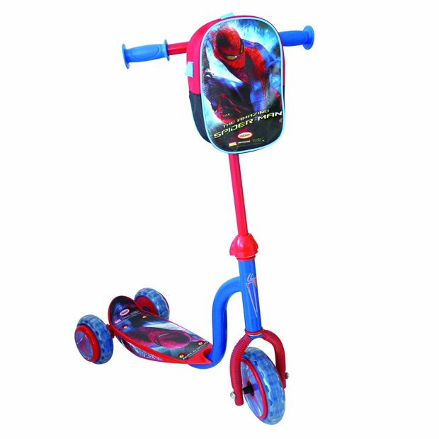 The Amazing Spider-Man Scooter With Bag