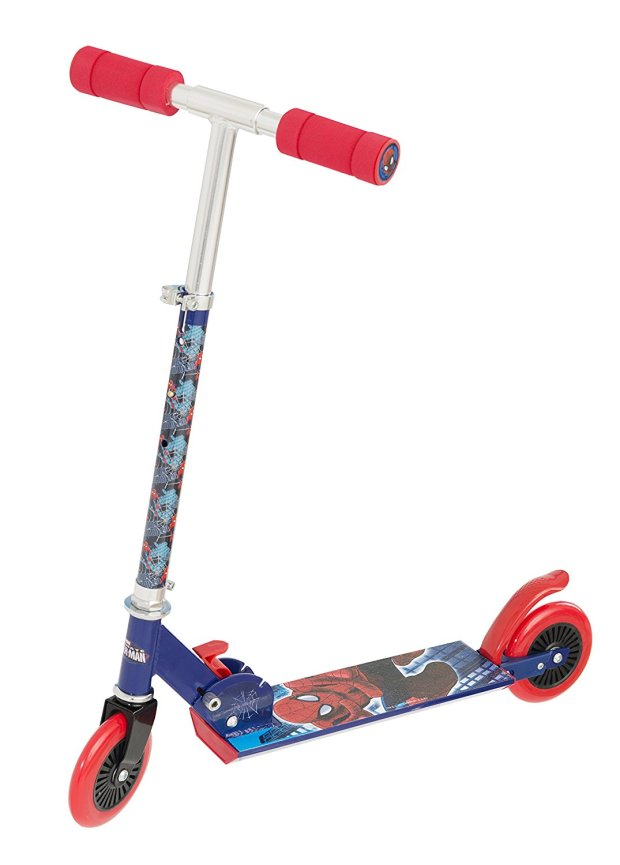 Ultimate Spider-Man Folding Scooter