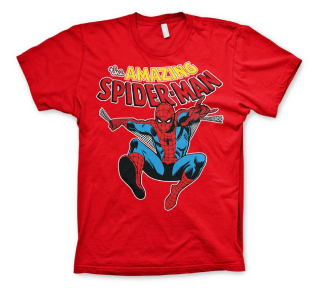 Amazing Spider-Man T-Shirt (Red)