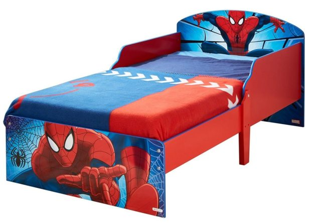 Hello Home Spider-Man Bed