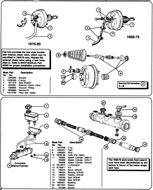 small resolution of fiat brakes diagram wiring diagram mix fiat brakes diagram