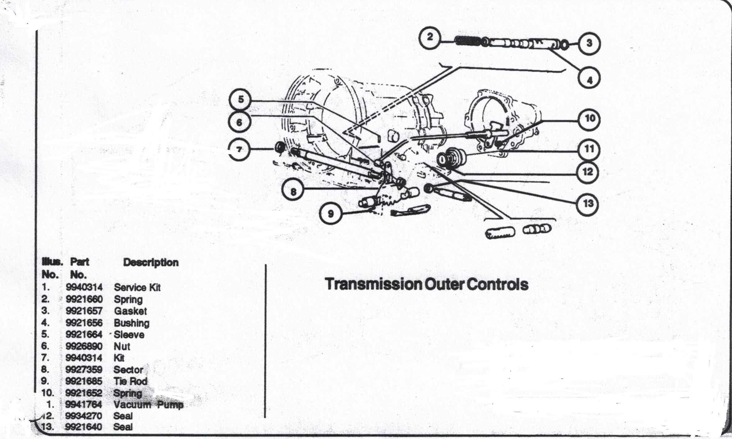 Fiat SpiderTransmission