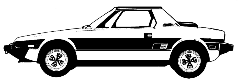 FIAT X1/9 PARTS Fiat strada Fiat 128 Fiat ritmo Fiat 138