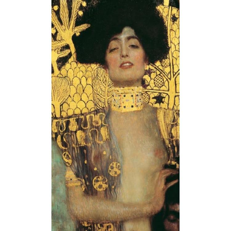 Judith di Klimt  Adesivo murale in tela artistica