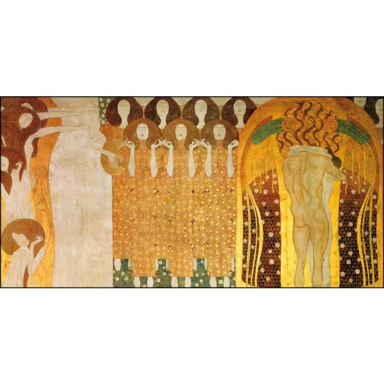 Fregio di Beethoven di Klimt  Quadro dAutore