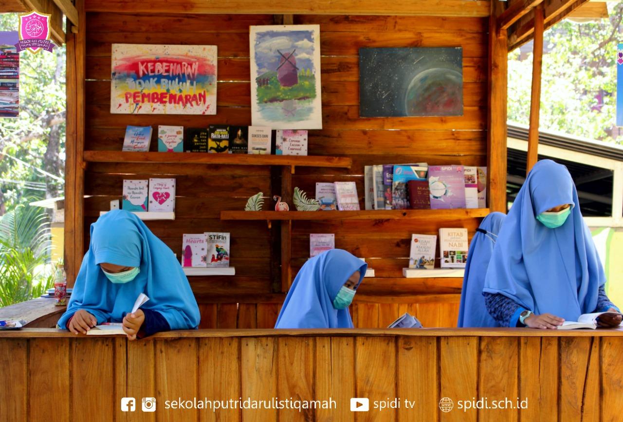 Rumah Baca SPIDI. Sekolah Putri Darul Istiqamah