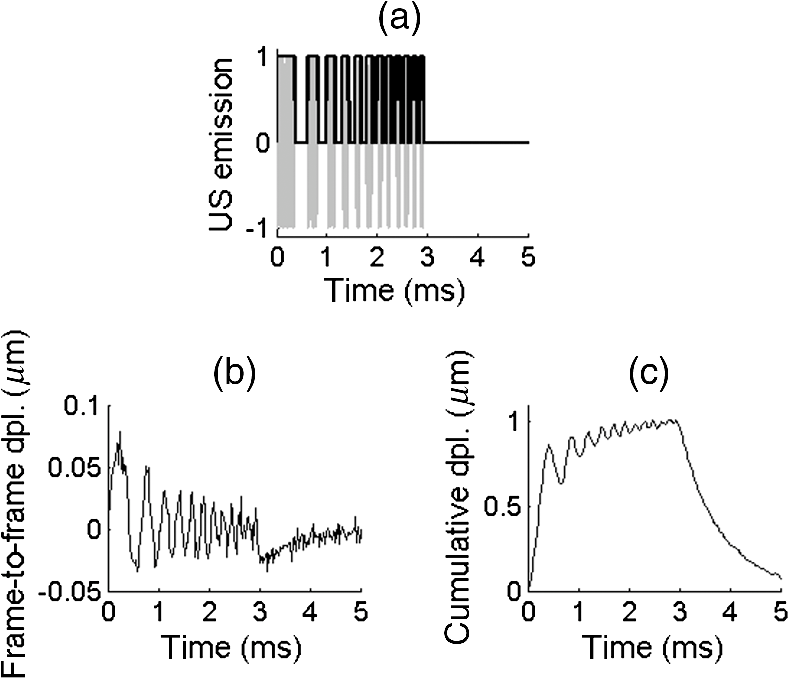 Shear wave elastography using amplitude-modulated acoustic