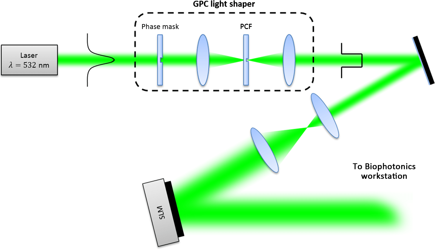 hight resolution of fig 3 schematic diagram of the holographic coupling light