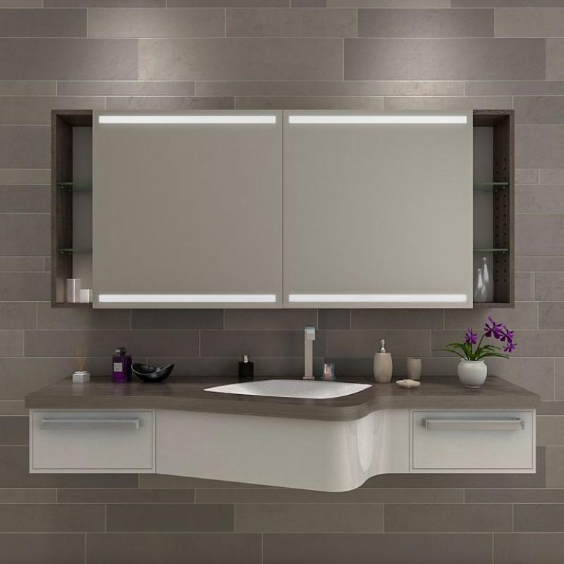 Catania  Badezimmer Spiegelschrank mit Beleuchtung online kaufen