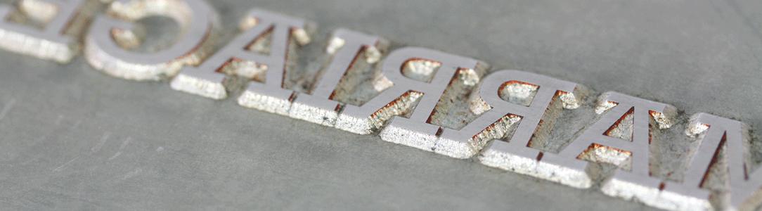 letterpress die