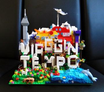Lego MOC dedicata a Viaggintempo