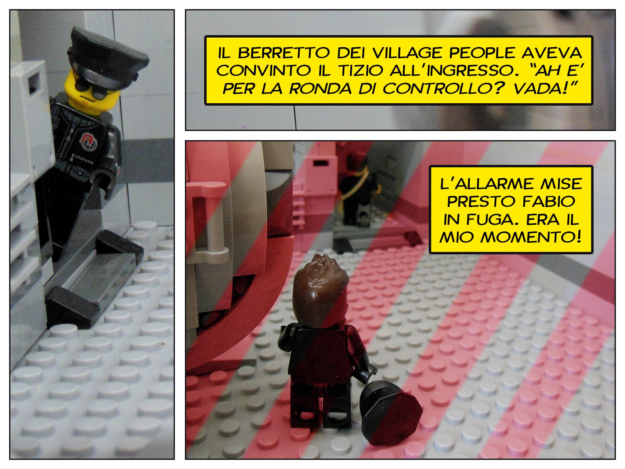 Faccio quello che voglio, il prequel a Lego fumetti - allarme