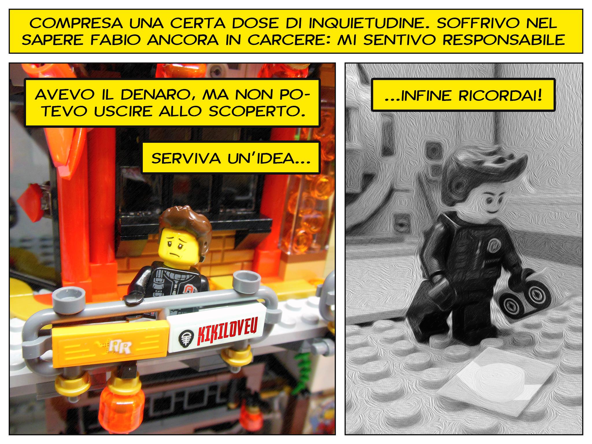 Faccio quello che voglio, il prequel a Lego fumetti - rimorsi