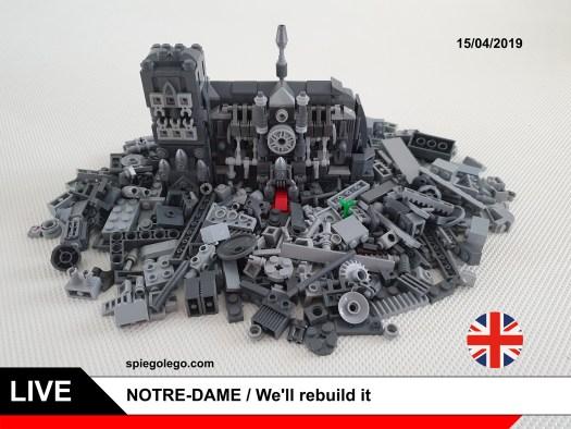 Notre Dame fire - We'll rebuild it
