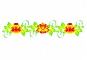Ausmalbilder Blumen Ranken Kostenlos