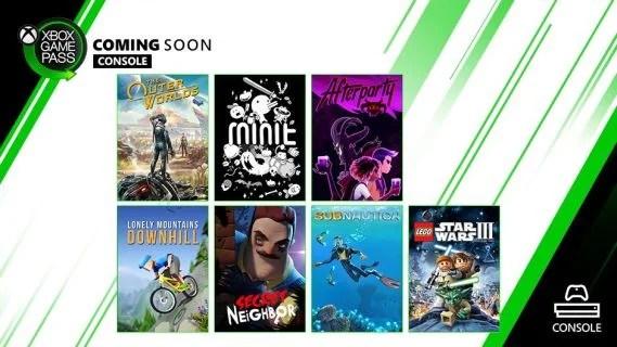 Xbox Game Pass Update
