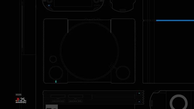 #25YearsOfPlay Wallpaper: Desktop - Black