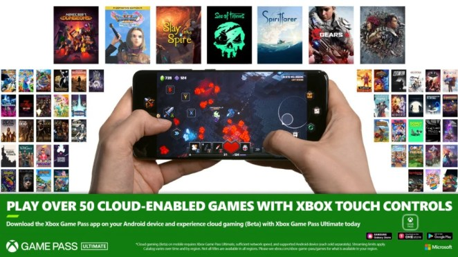 Xbox Touch Controls