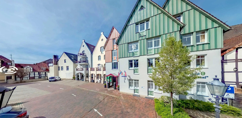 Virtueller Hotelrundgang für Hotel Stadt Kassel