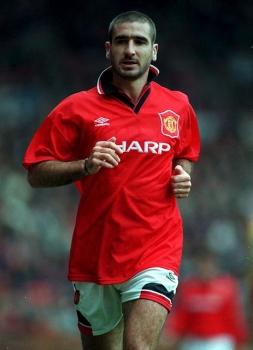 Köp eric cantona manchester united limited edition canvastavla en av 50 gjorda hos tradera! Umbro Manchester United Trikot 7 Eric Cantona 1994/95 Rot ...