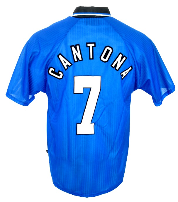 Maillot new chinese year manchester united dédicacé par eric cantona. Umbro Manchester United camiseta 7 Eric Cantona 1996/97 ...