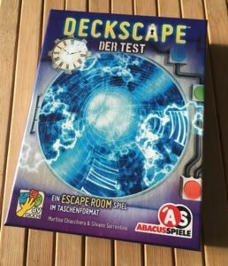 Deckscape test Box