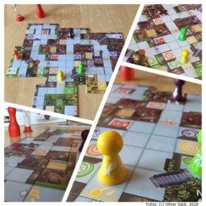 Magic Maze für Sechs Spieler