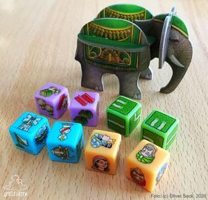 Rajas Elefant Dice