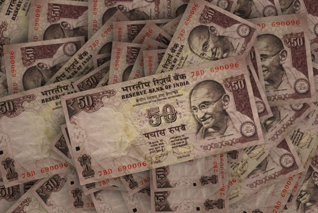 Indische Rupien